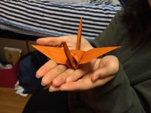 Taniguchi's paper crane