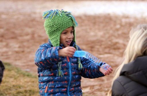 The Excellent Egg Frenzy brought hundreds of people to the softball fields at HealthEast Sports Center April 13, 2019, in Woodbury. Hannah Black / RiverTown Multimedia